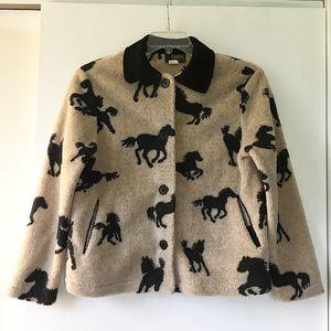 VTG Fleece Horse Jacket